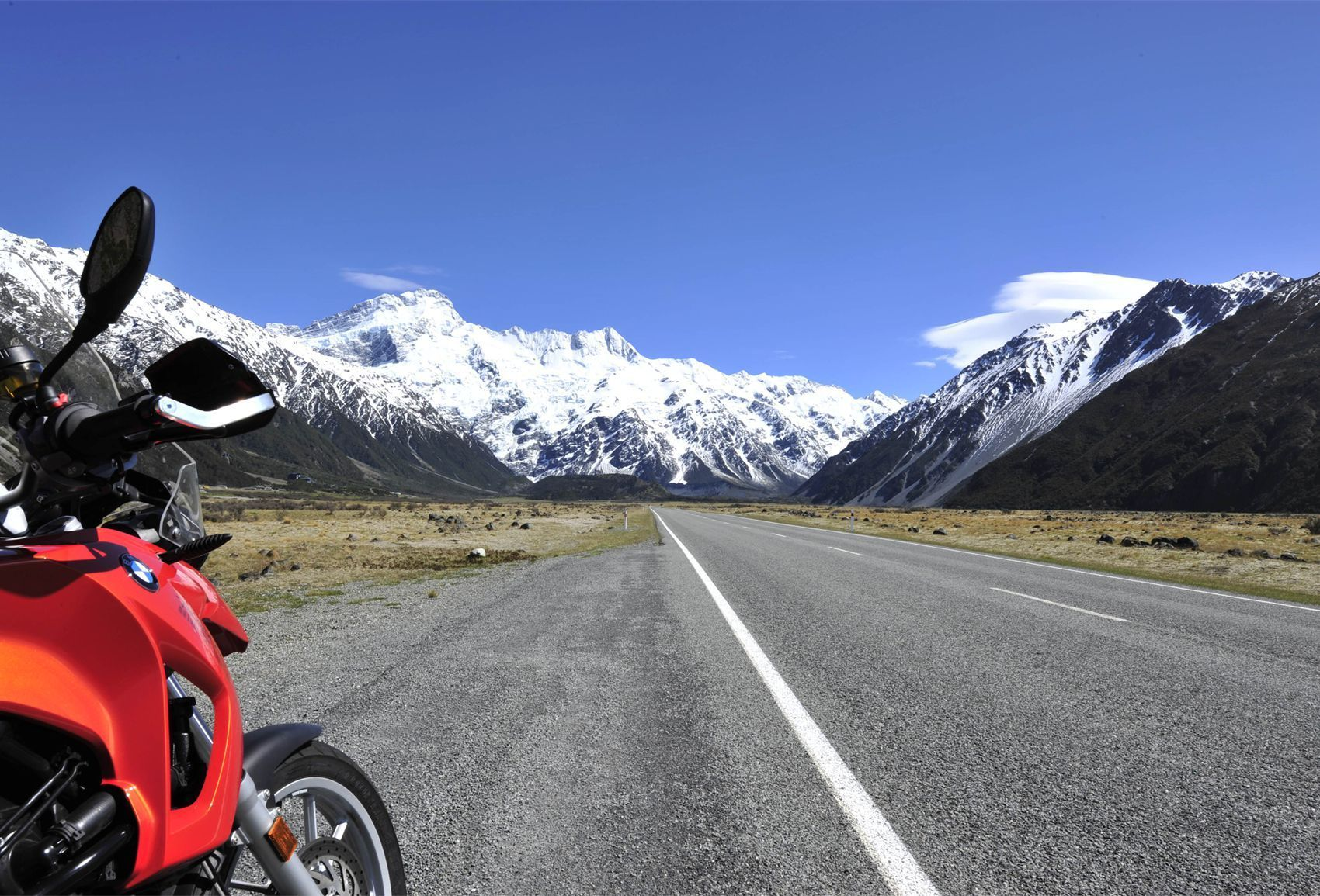 BMW Motorcycle Tours | 18 Day New Zealand Motorbike Guided Tour